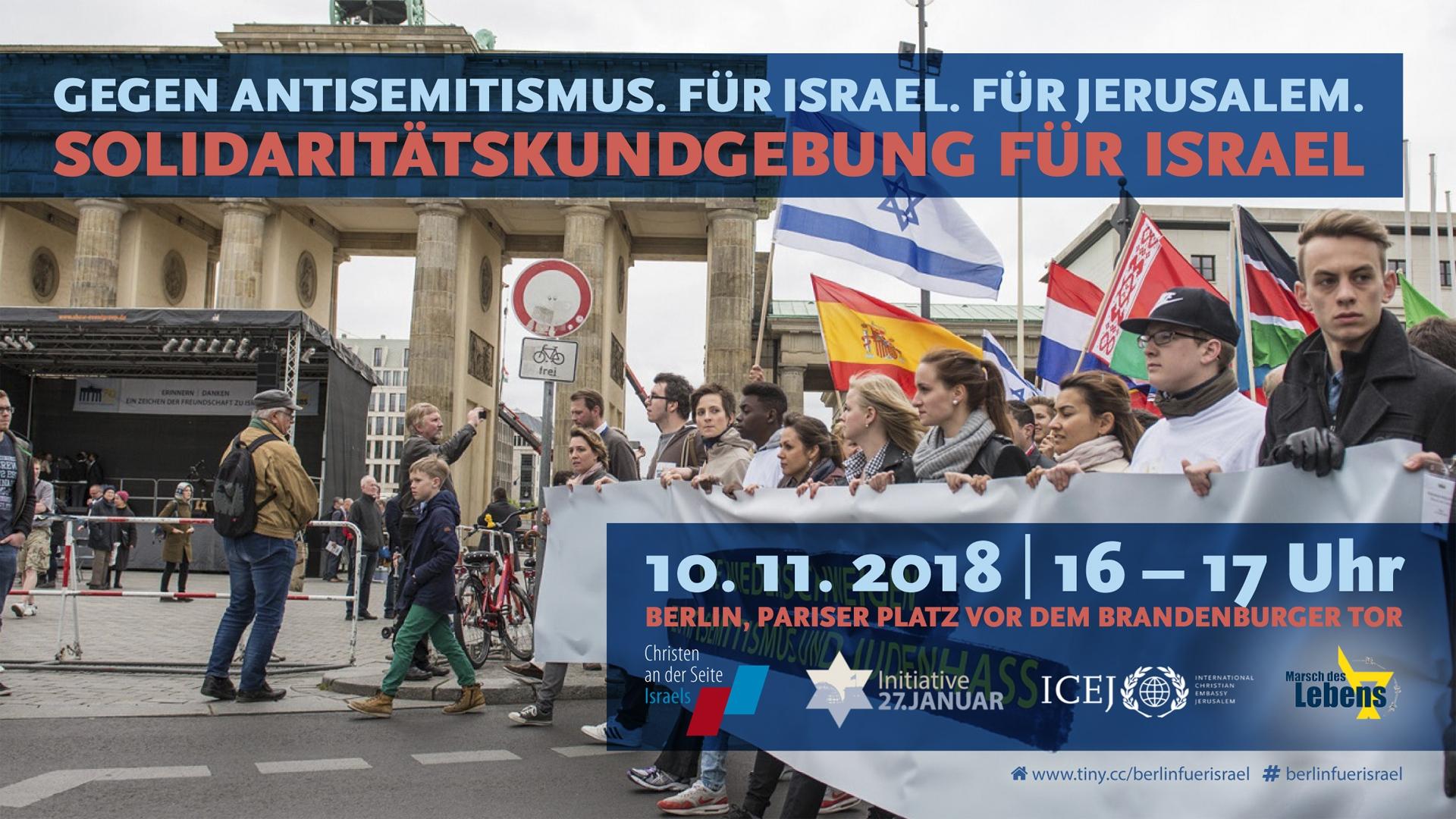 Solidaritätskundgebung für Israel